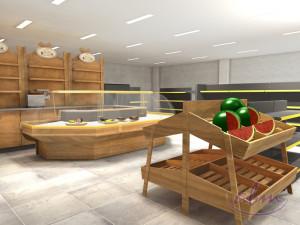 Projekt stoiska na warzywa i owoce - wizualizacja ABM (2)