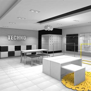System sklepowy TECHNO