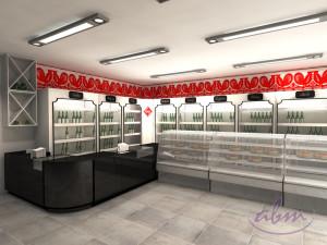 4-Wizualizacja sklepu w Anglii - projekt ABM
