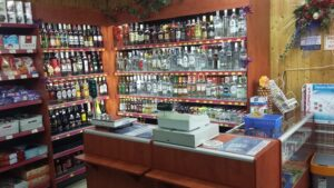 lada impulsowa w sklepie alkoholowym