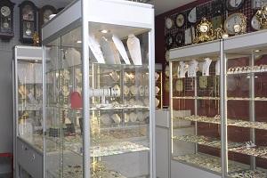 wyposażenie sklepu jubilerskiego